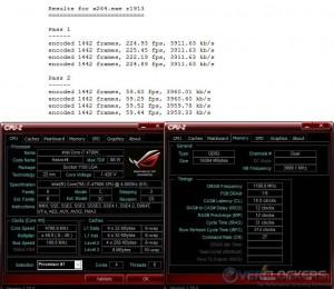 x264 @ 4.8 GHz CPU / 2400 MHz Memory