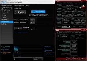Intel XTU @ 4.8 GHz CPU / 2400 MHz Memory