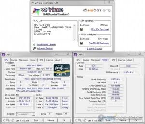 wPrime @ 3.5 GHz CPU / 2400 MHz Memory