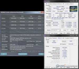 AIDA64 Cache & Memory @ 3.5 GHz CPU / 2400 MHz Memory