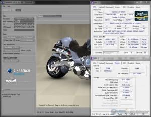 CB R10 @ 4.7 GHz CPU / 2400 MHz Memory