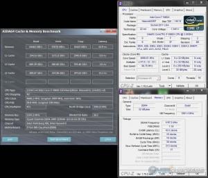 AIDA64 Cache & Memory @ 4.7 GHz CPU / 2400 MHz Memory