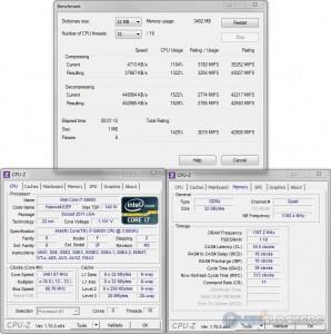 7zip @ 3.5 GHz CPU / 2400 MHz Memory
