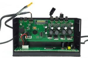 Scythe Kaze Master Flat II fan wire + thermometer