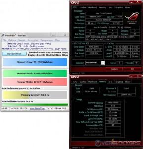 MaxxMEM @4.75 GHz CPU / 3000 MHz Memory
