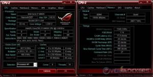 Memory at 3100 MHz