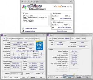 wPrime @ 3.5 GHz CPU / 3000 MHz Memory