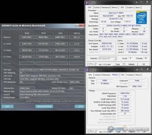 AIDA64 @ 3.5 GHz CPU / 3000 MHz Memory