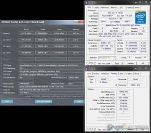 AIDA64 @ 4.75 GHz CPU / 3000 MHz Memory