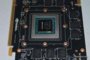PCB GPU and Memory Area