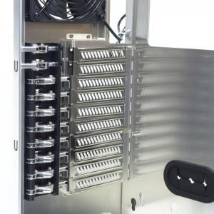 Ten PCIE slots