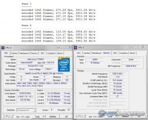 x264 @ 4.75 GHz CPU / 3000 MHz Memory