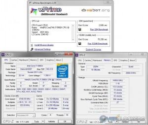 wPrime @ 4.75 GHz CPU / 3000 MHz Memory