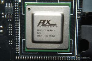 PLX PEX8747 Chip