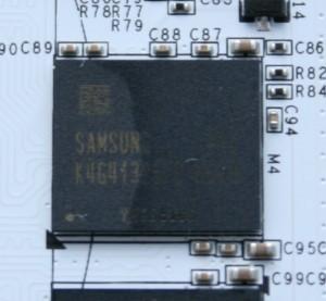 Samsung GDDR5 - K4G41325FC