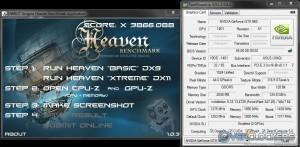 HWBot Heaven Overclocked - SLI