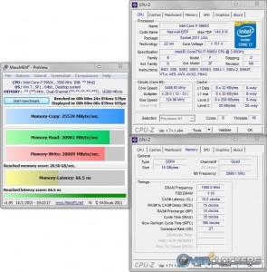 MaxMEM @ 3.5 GHz CPU / 3000 MHz Memory