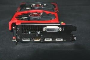 Outputs - 3x Displayports, 1x HDMI, 1x DVI