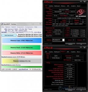 MaxxMEM @ 4.75 GHz CPU / 3000 MHz Memory
