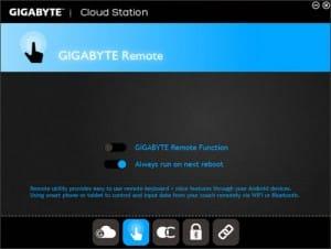 GIGABYTE Remote