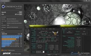 CB R15 @ 4.4 GHz CPU / 2400 MHz Memory