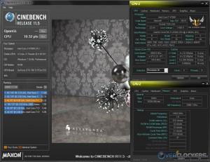 CB R11.5 @ 4.7 GHz CPU / 2400 MHz Memory