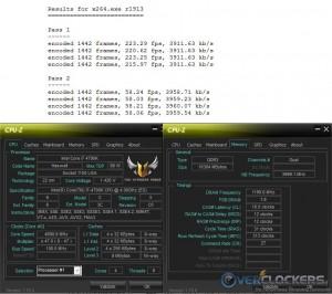 x264 @ 4.7 GHz CPU / 2400 MHz Memory