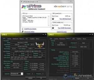 wPrime @ 4.7 GHz CPU / 2400 MHz Memory