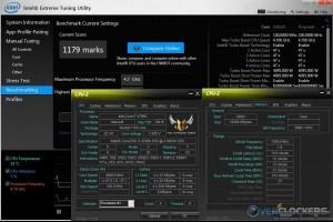 Intel XTU @ 4.7 GHz CPU / 2400 MHz Memory