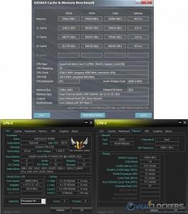 AIDA64 @ 4.7 GHz CPU / 2400 MHz Memory