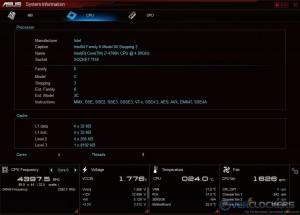 System Information - CPU