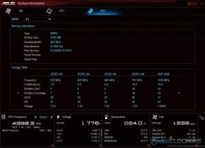 System Information - SPD Table