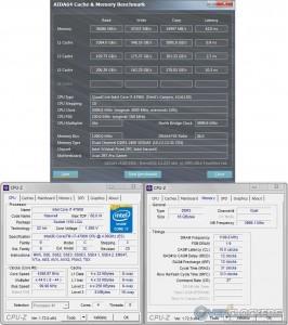 AIDA64 @ 4.4 GHz CPU / 2400 MHz Memory