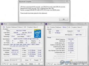 PoV Ray @ 4.7 GHz CPU / 2400 MHz Memory
