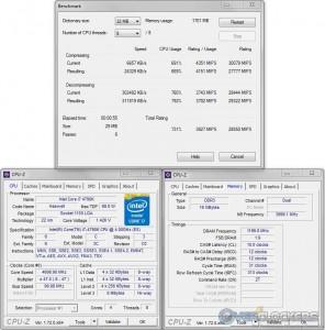 7zip @ 4.7 GHz CPU / 2400 MHz Memory