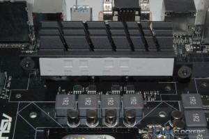 Left Side MOSFET Heatsink Removed