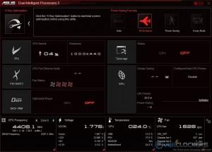 DIP5 Main Screen