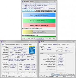 MaxxMEM @ 4.4 GHz CPU / 2400 MHz Memory
