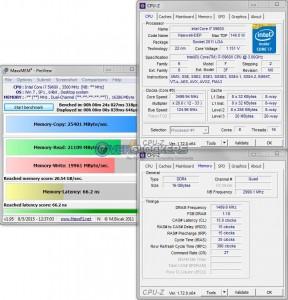 MaxxMEM @ 3.5 GHz CPU / 3000 MHz Memory