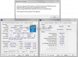 PoV Ray @ 4.75 GHz CPU / 3000 MHz Memory