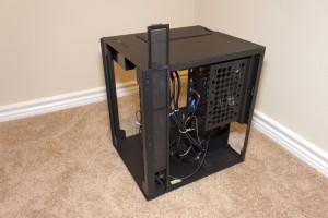 Lian Li PC-O8 - Dust Filter Raised