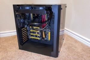 Lian Li PC-O8 - Partially Built