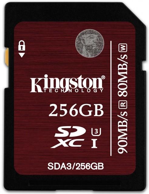 SDXC UHS-I U3 256GB  _SDA3_256GB