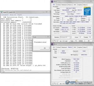 SuperPi 32M @ 3.5 GHz CPU / 3000 MHz Memory