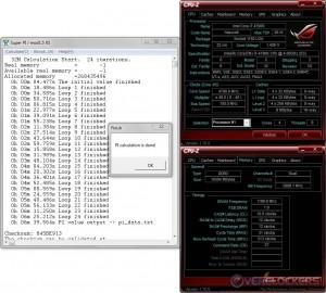 SuperPi 32M - i7 4790K @ 4..8 GHz