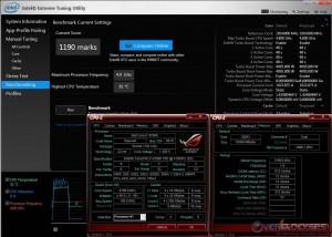 Intel XTU - i7 4790K @ 4.8 GHz