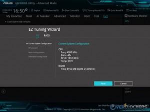 EZ Tuning Wizard