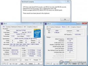 PoV Ray - i7 6700K @ 4.8 GHz