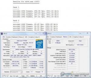 x264 - i7 6700K @ 4.8 GHz