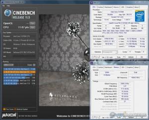 CB R11.5 - i7 6700K @ 4.8 GHz